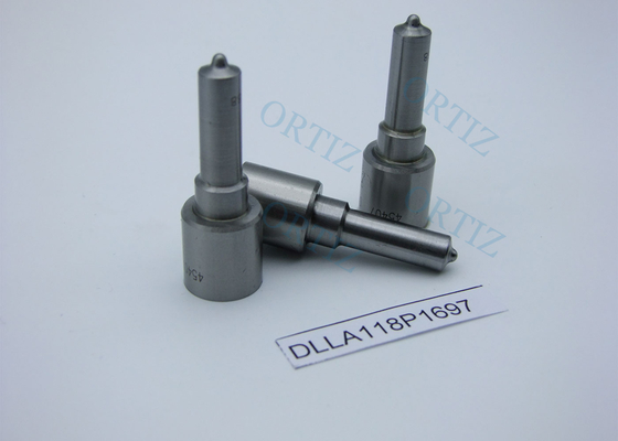 ORTIZ diesel common rail injection nozzle DLLA118p1697 diesel injector nozzle for Komatsu Cummins injector 0445120125